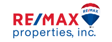 remax properties inc logo with hot air balloon