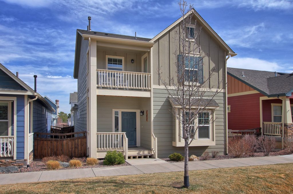 craftsman style home that has sold in Colorado Springs